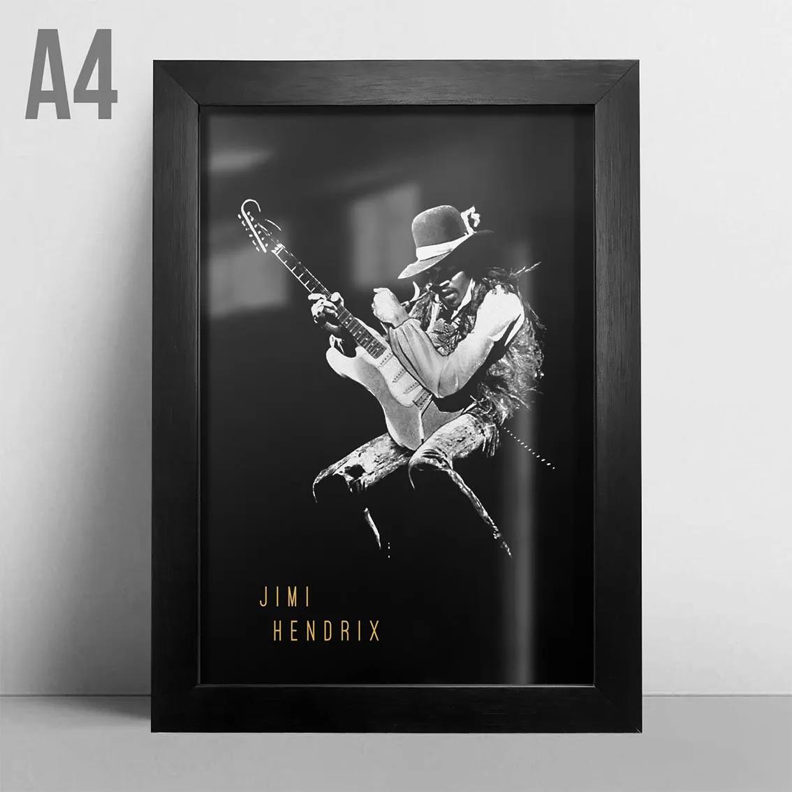 Quadro A4 - Jimi Hendrix