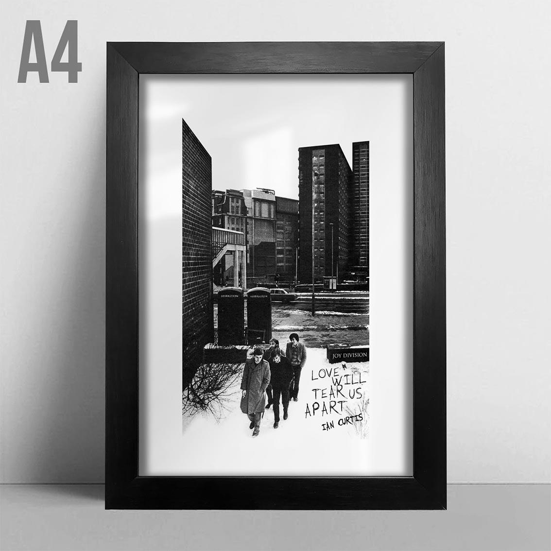 Quadro A4 - Joy Division