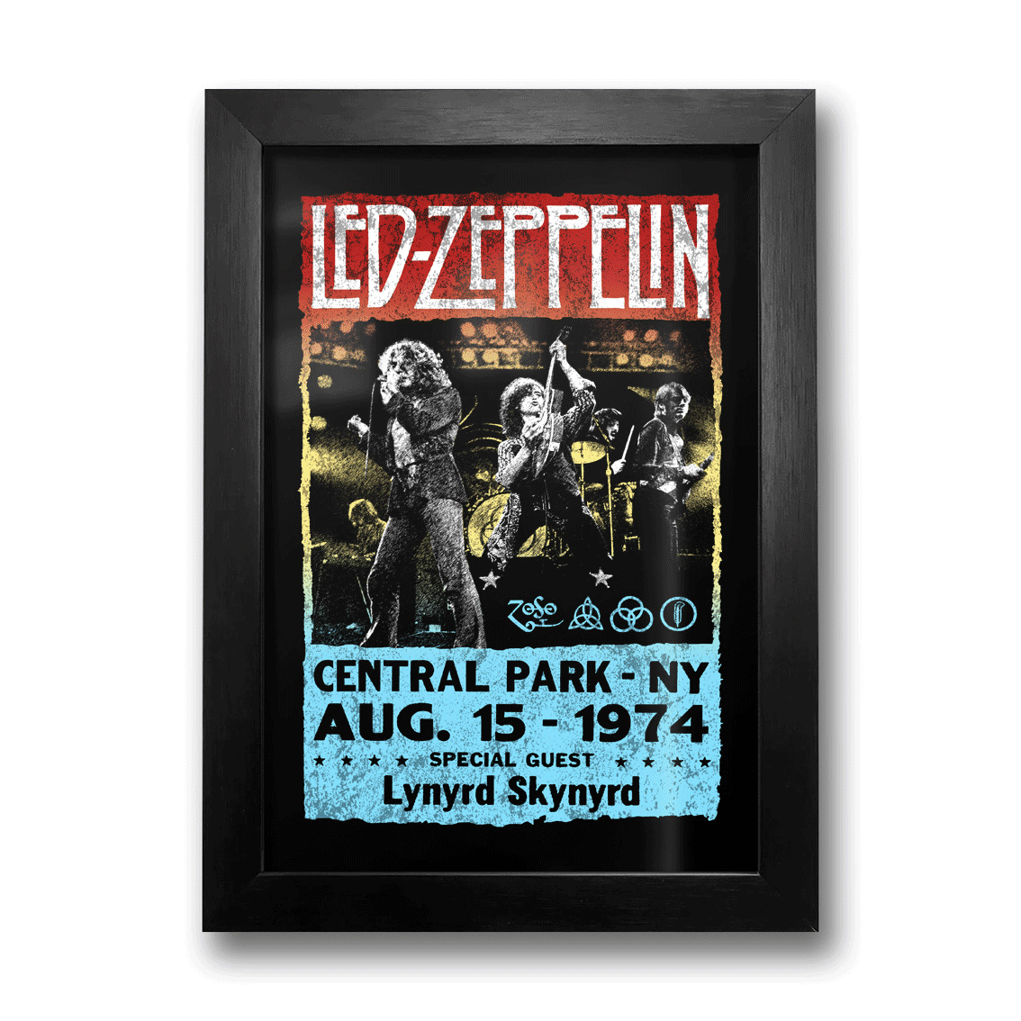 Quadro Led Zeppelin