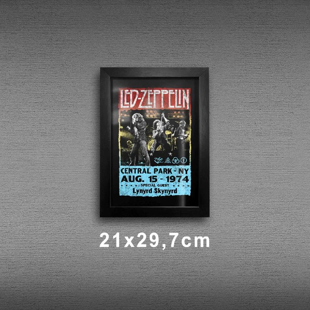 Quadro A4 - Led Zeppelin