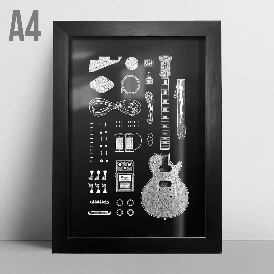 Quadro A4 - Les Paul