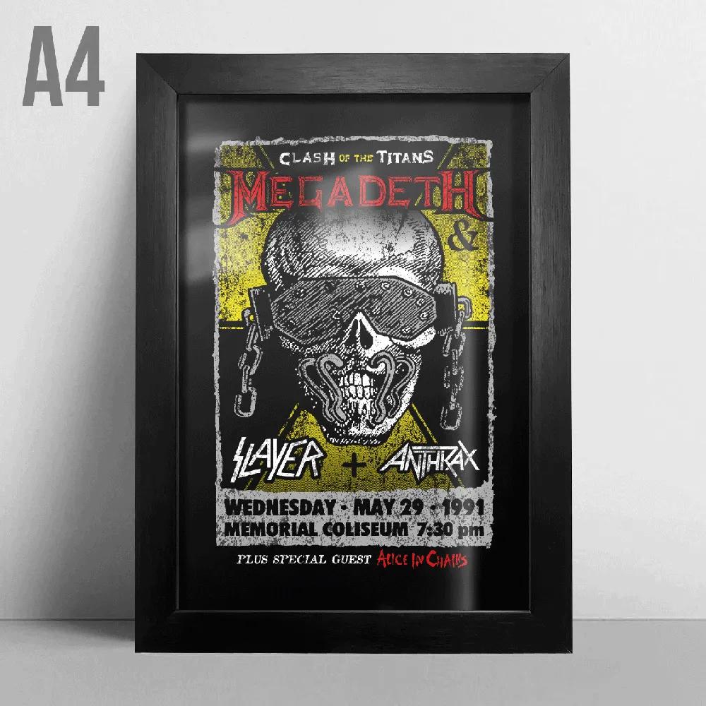 Quadro A4 - Megadeth