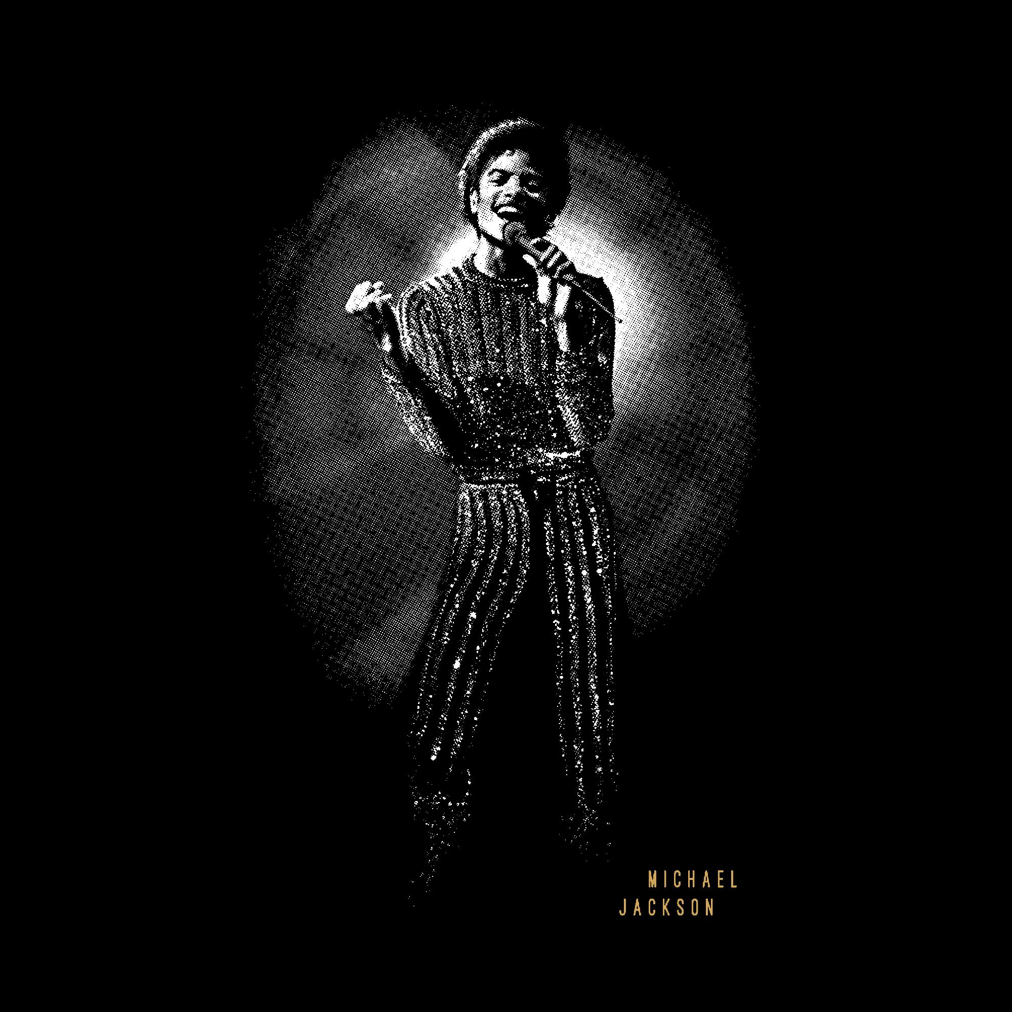 Quadro A4 - Michael Jackson