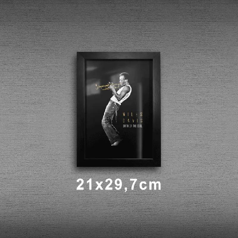 Quadro A4 - Miles Davis