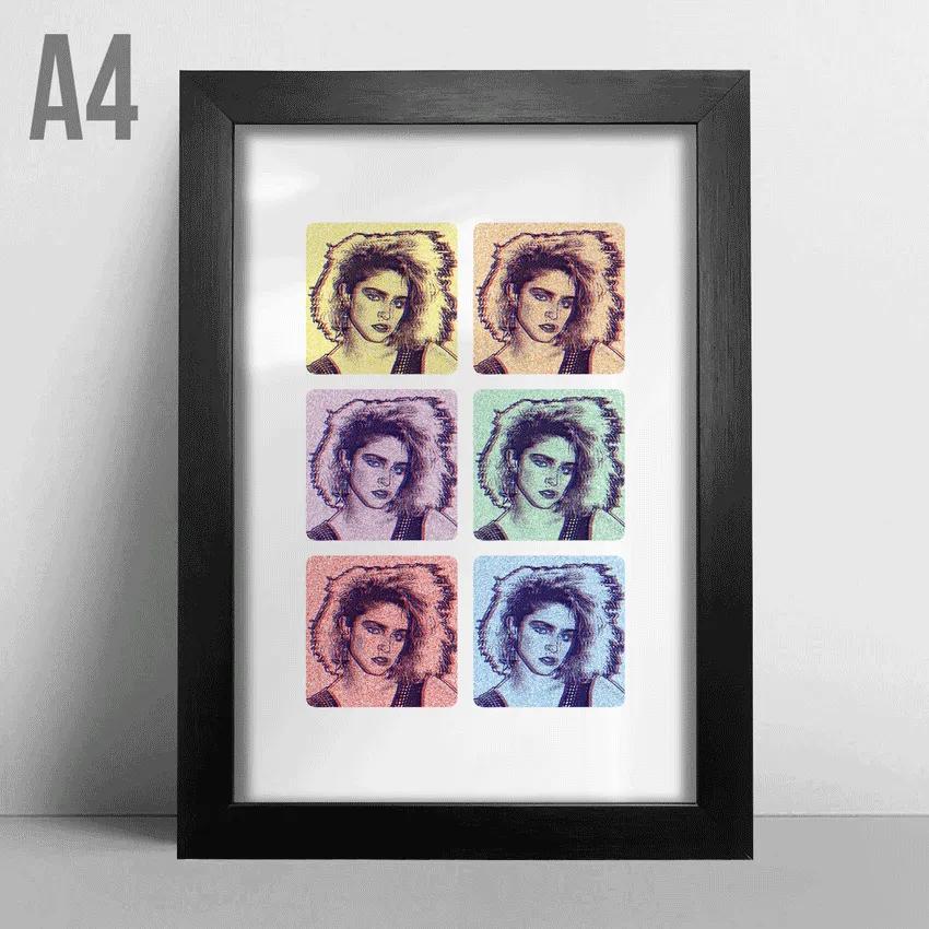 Quadro A4 - Madonna