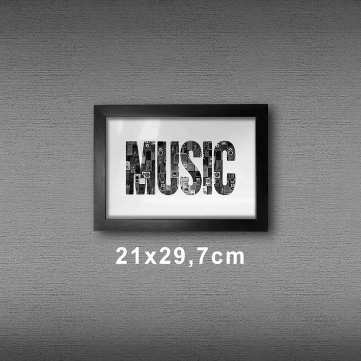 Quadro A4 - Music