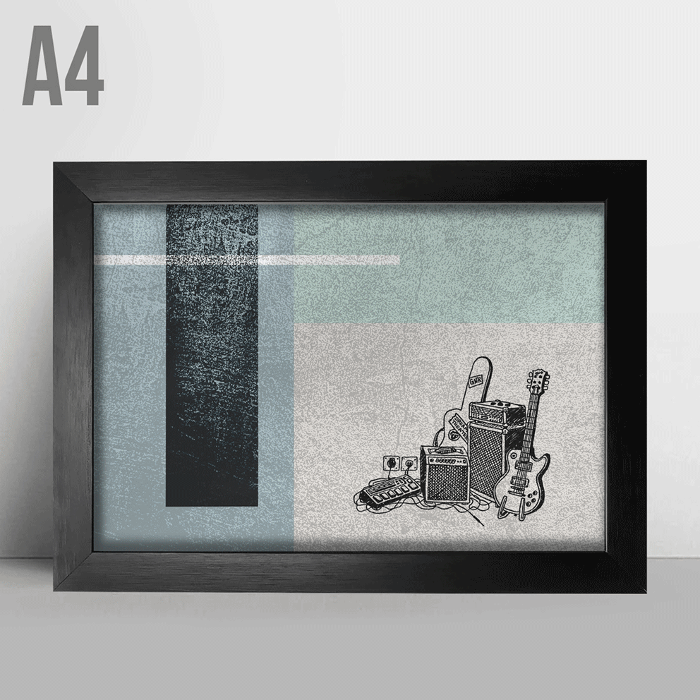 Quadro A4 - Music Decor