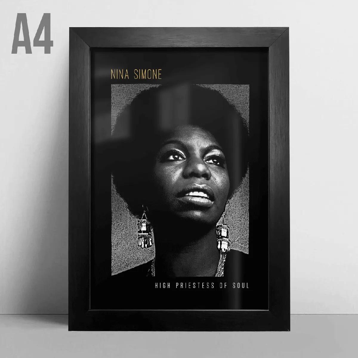 Quadro A4 - Nina Simone