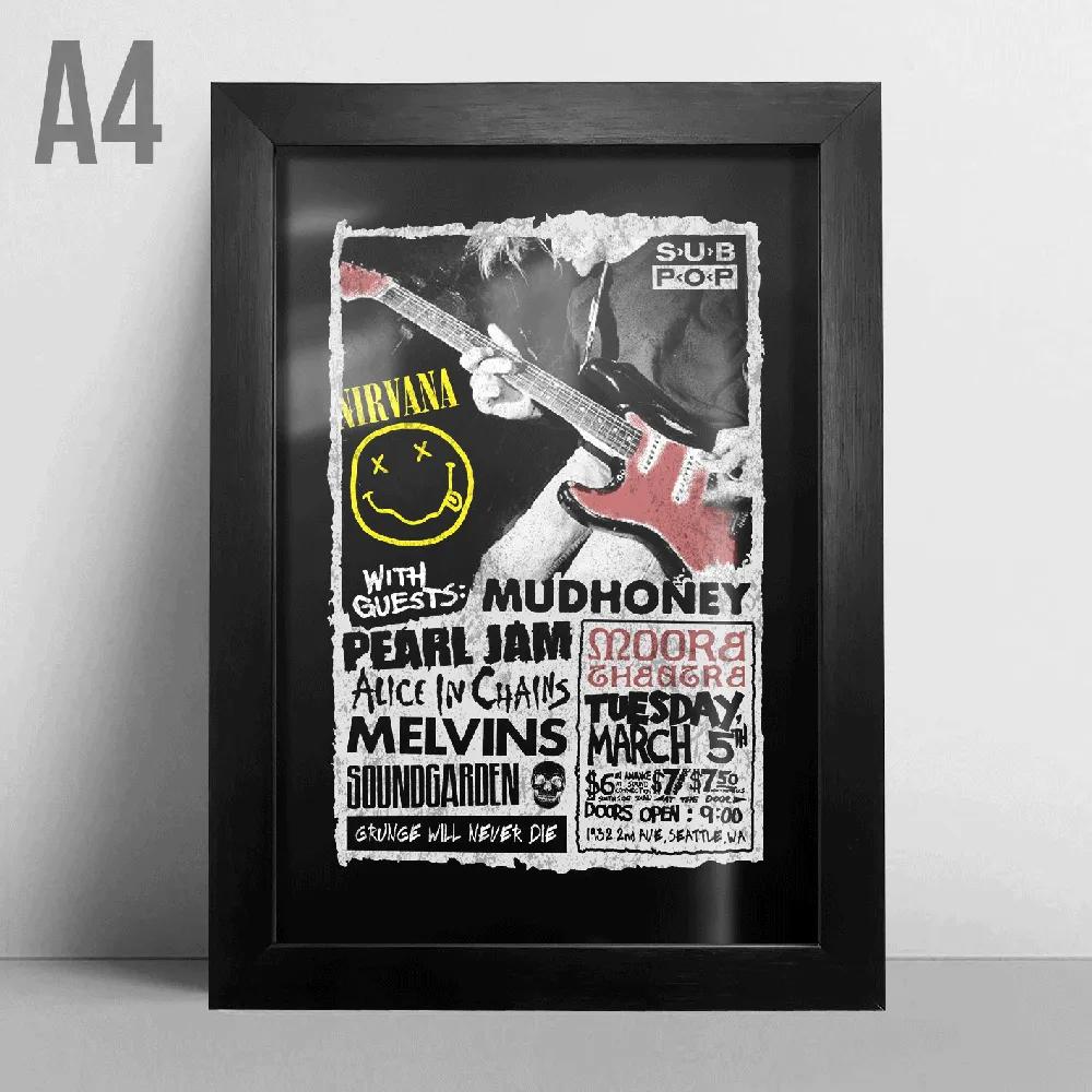 Quadro A4 - Nirvana