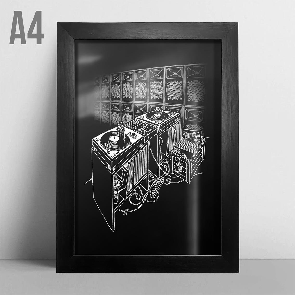 Quadro A4 - Classic Sound System