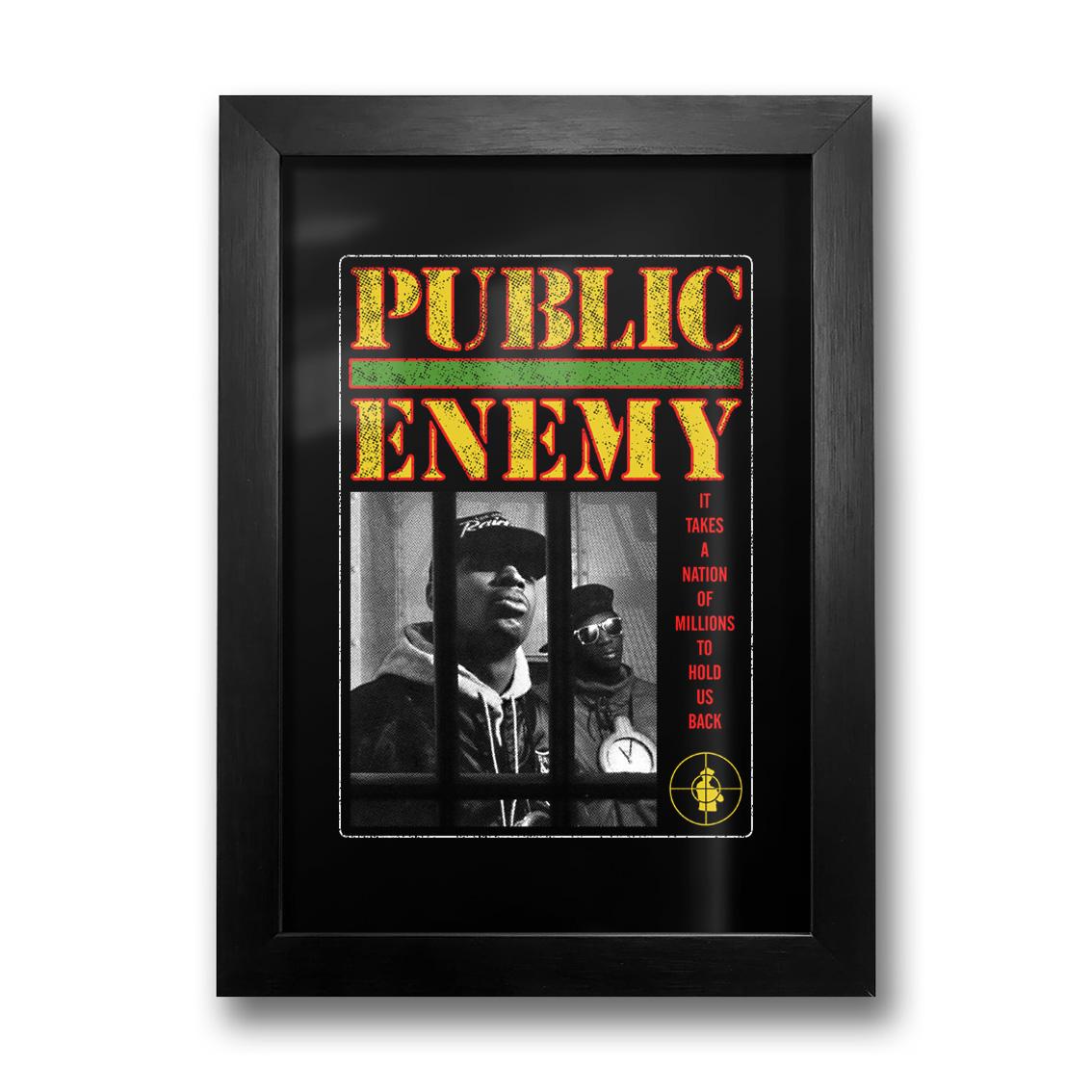 Quadro Public Enemy