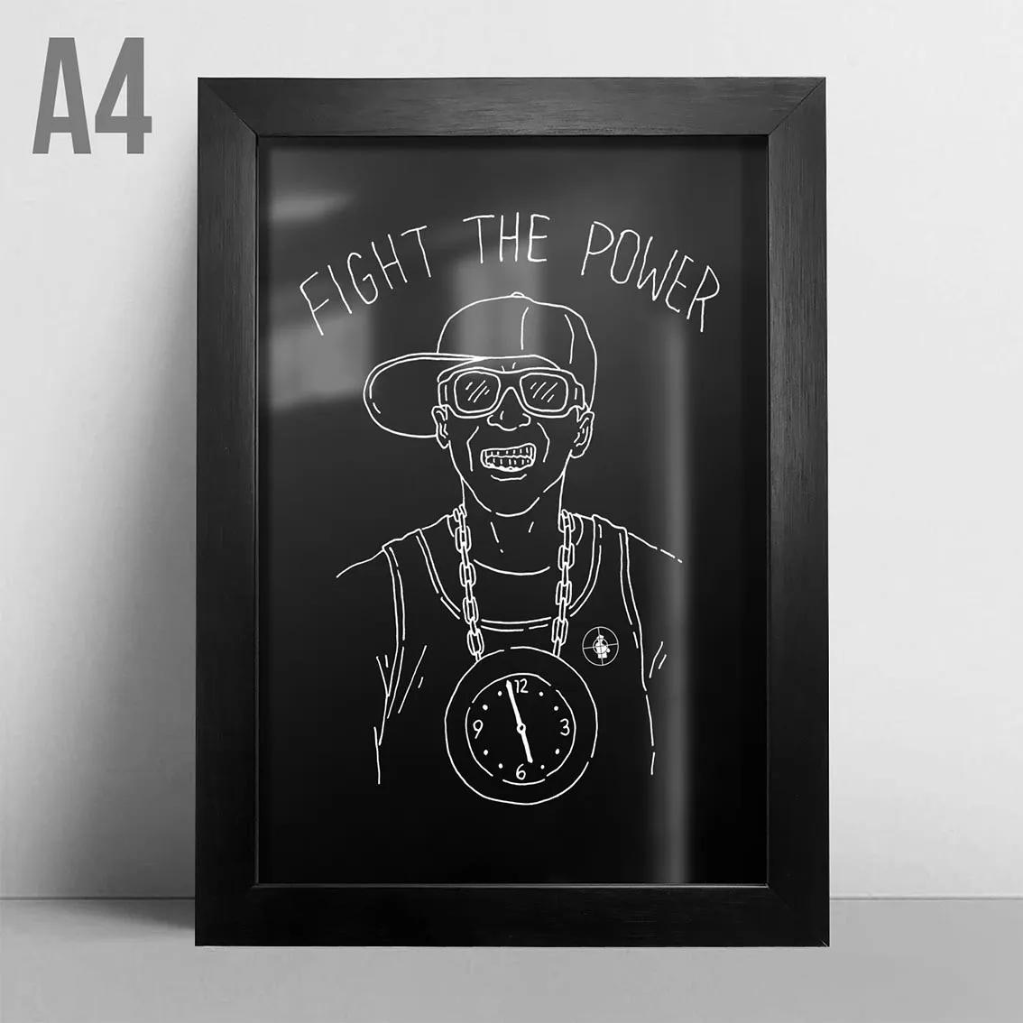Quadro A4 - Fight The Power