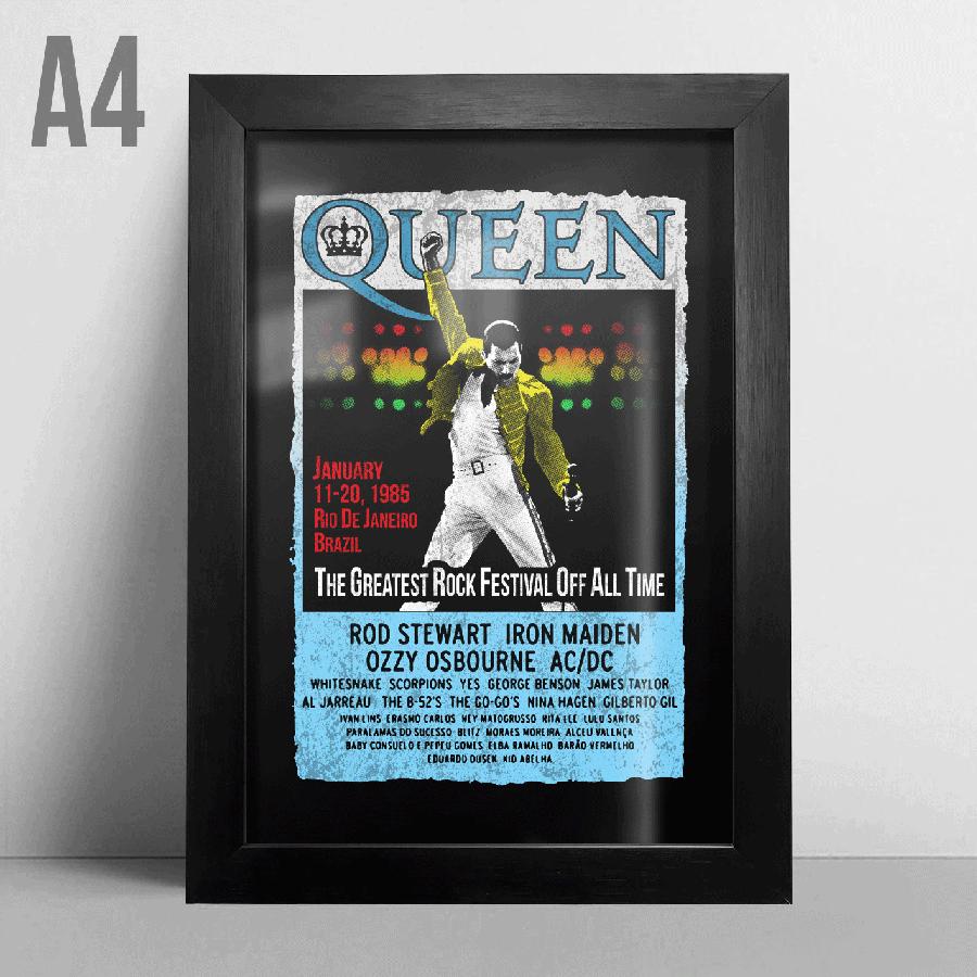 Quadro A4 - Queen
