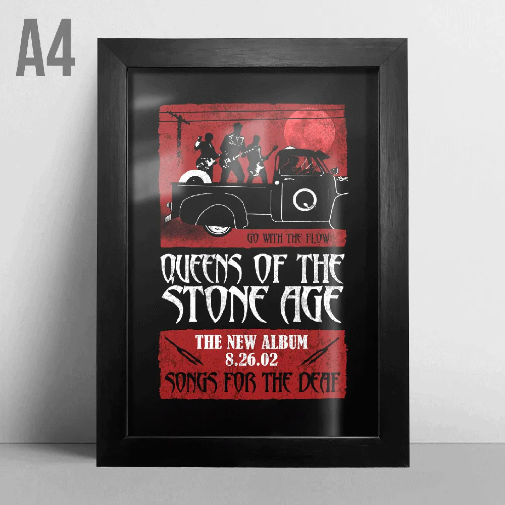 Quadro A4 - Queens Of The Stone Age