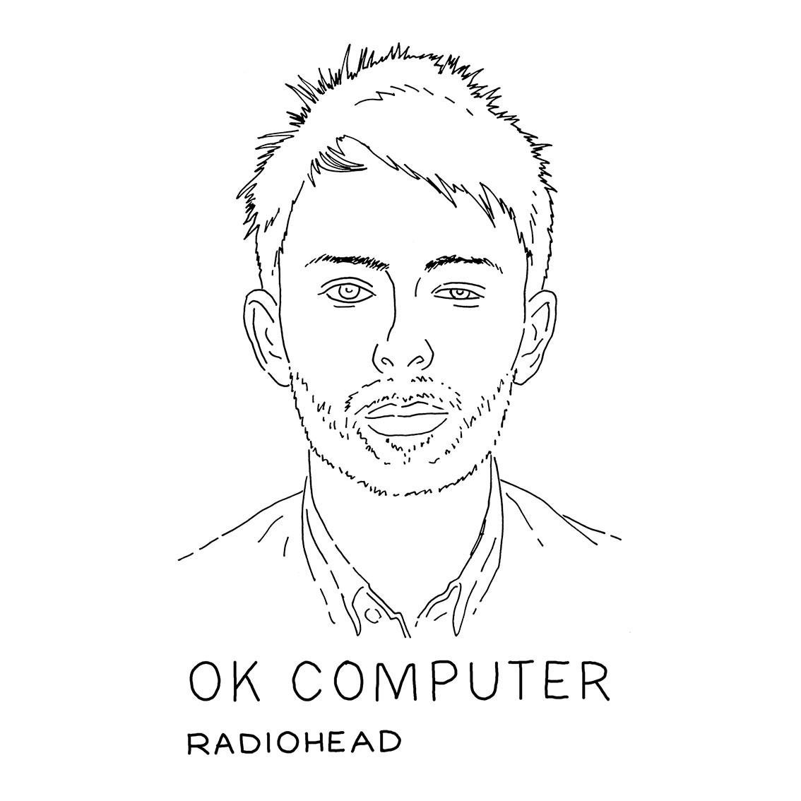 Quadro A4 - Radiohead BR