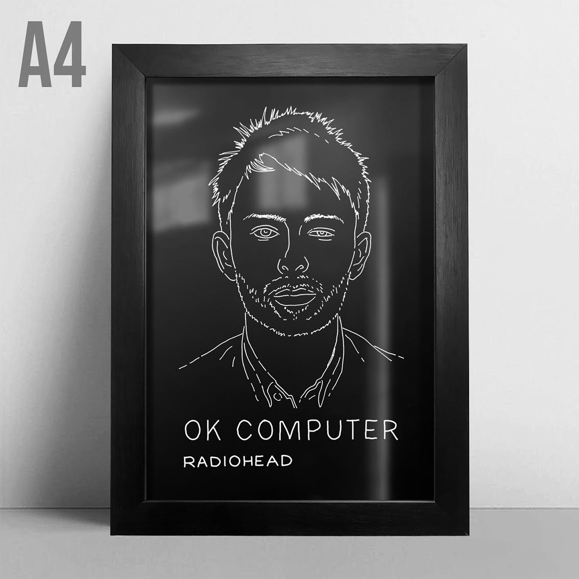 Quadro A4 - Radiohead PT