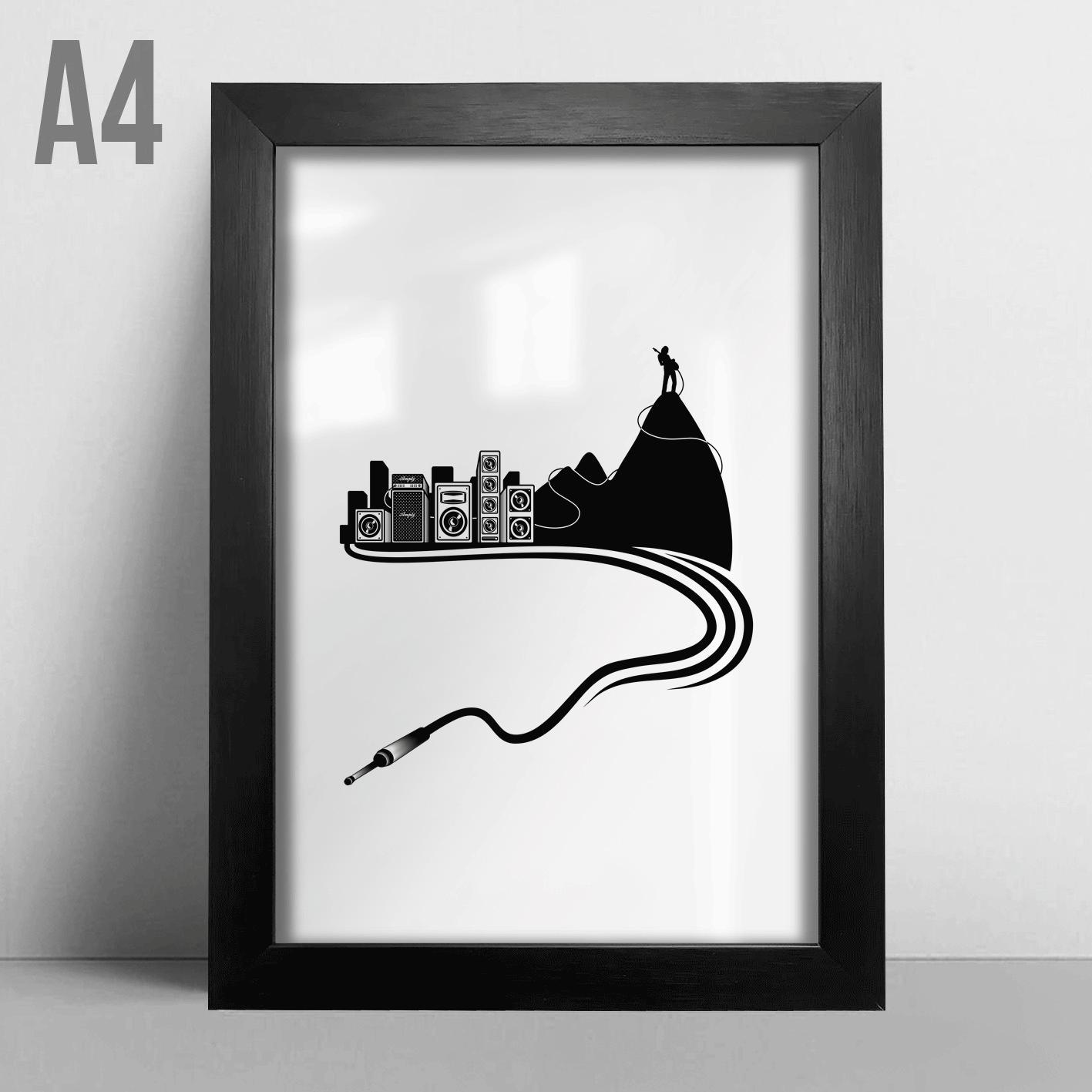 Quadro A4 - Rock City
