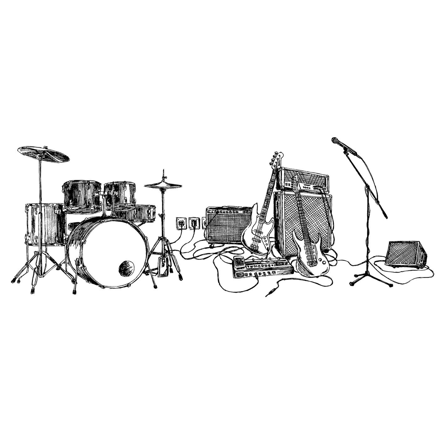 Quadro A4 - Rock Draft