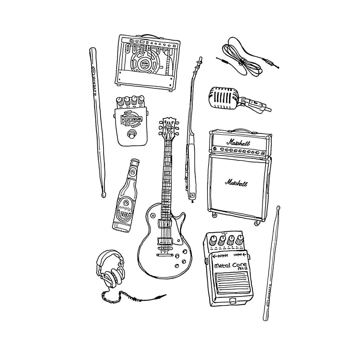 Quadro A4 - Rock Instruments BR