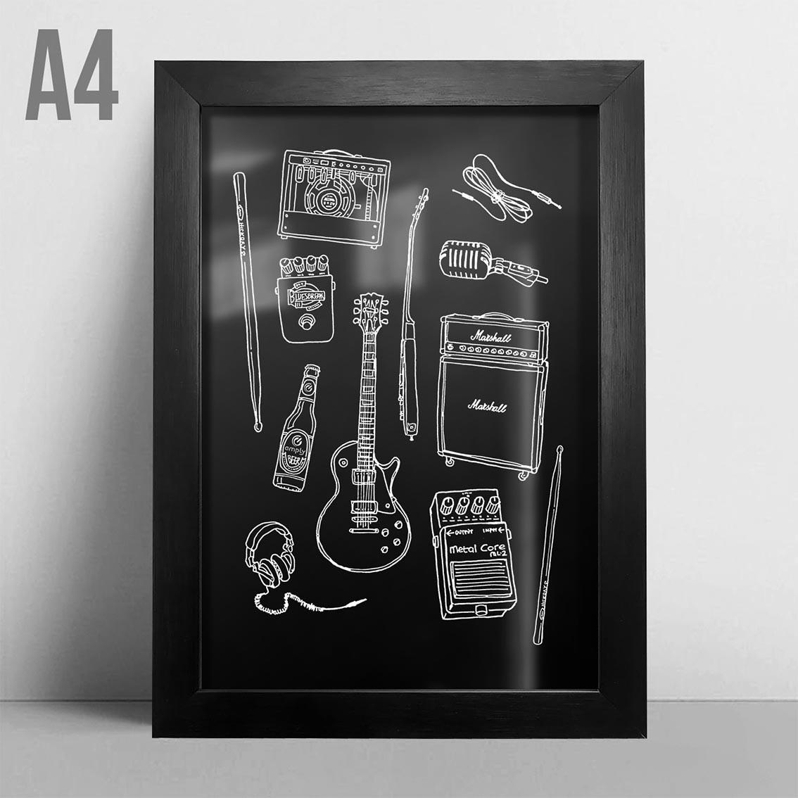 Quadro A4 - Rock Instruments PT
