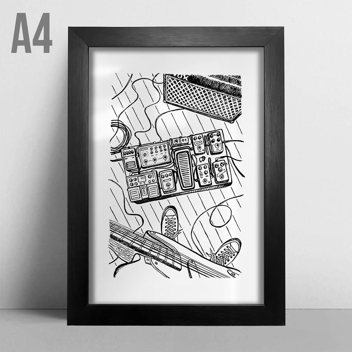 Quadro A4 - Rock Studio