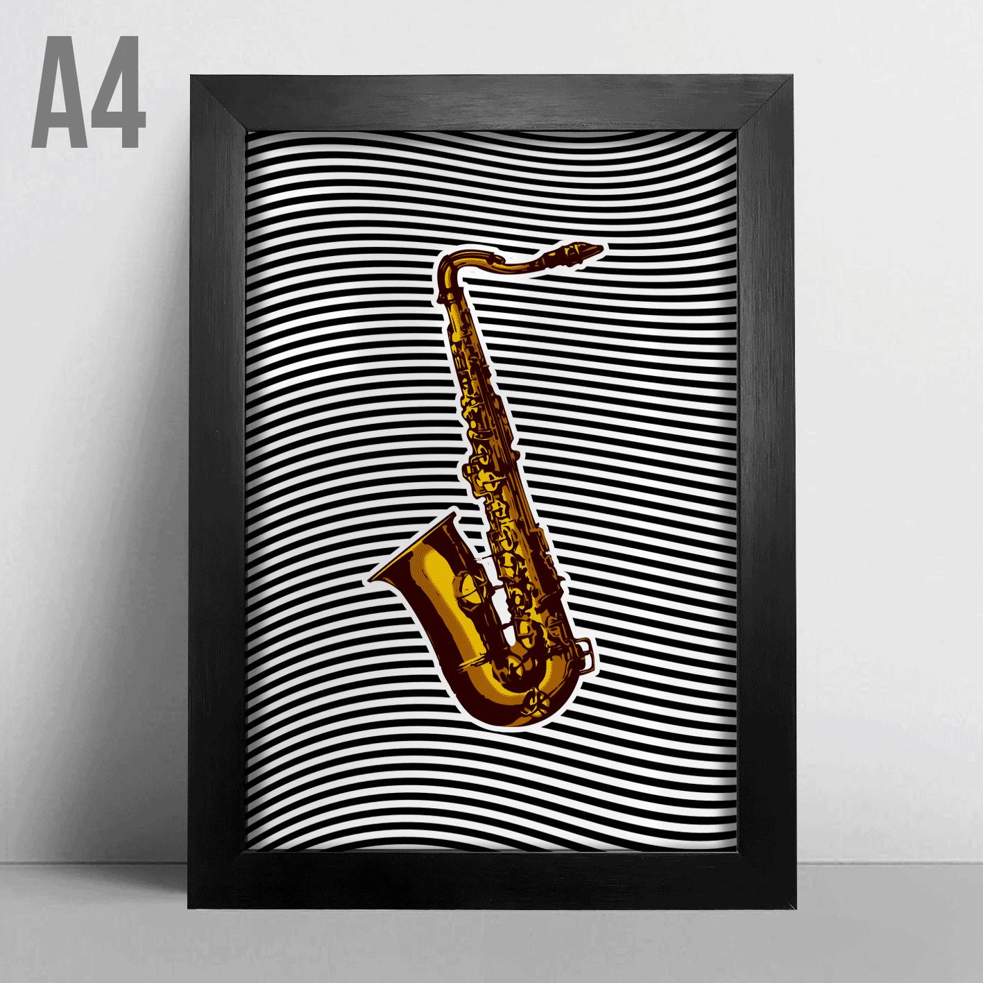Quadro A4 - Sax