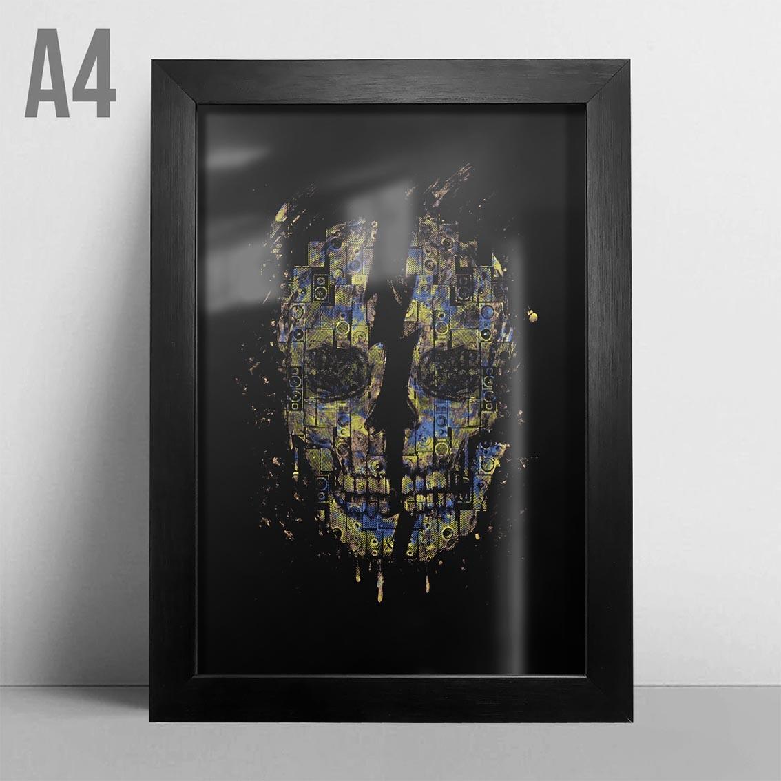 Quadro A4 - Skull Sound