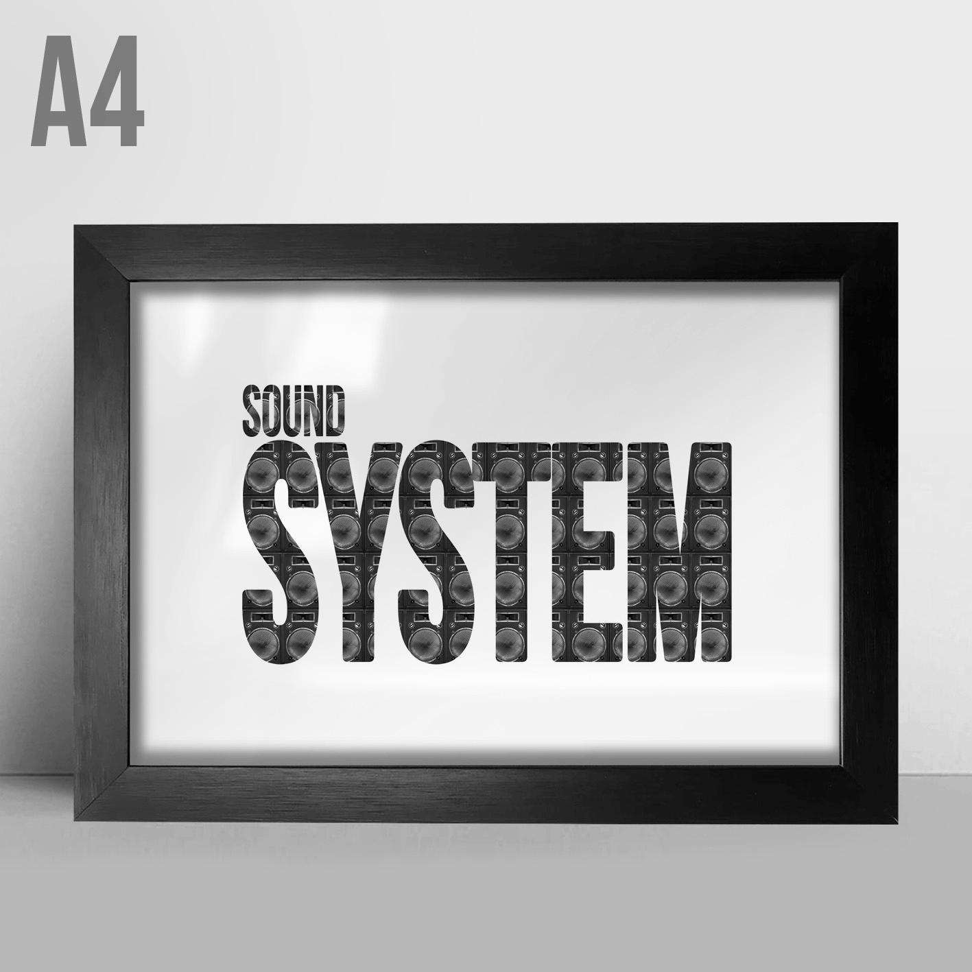 Quadro A4 - Sound System
