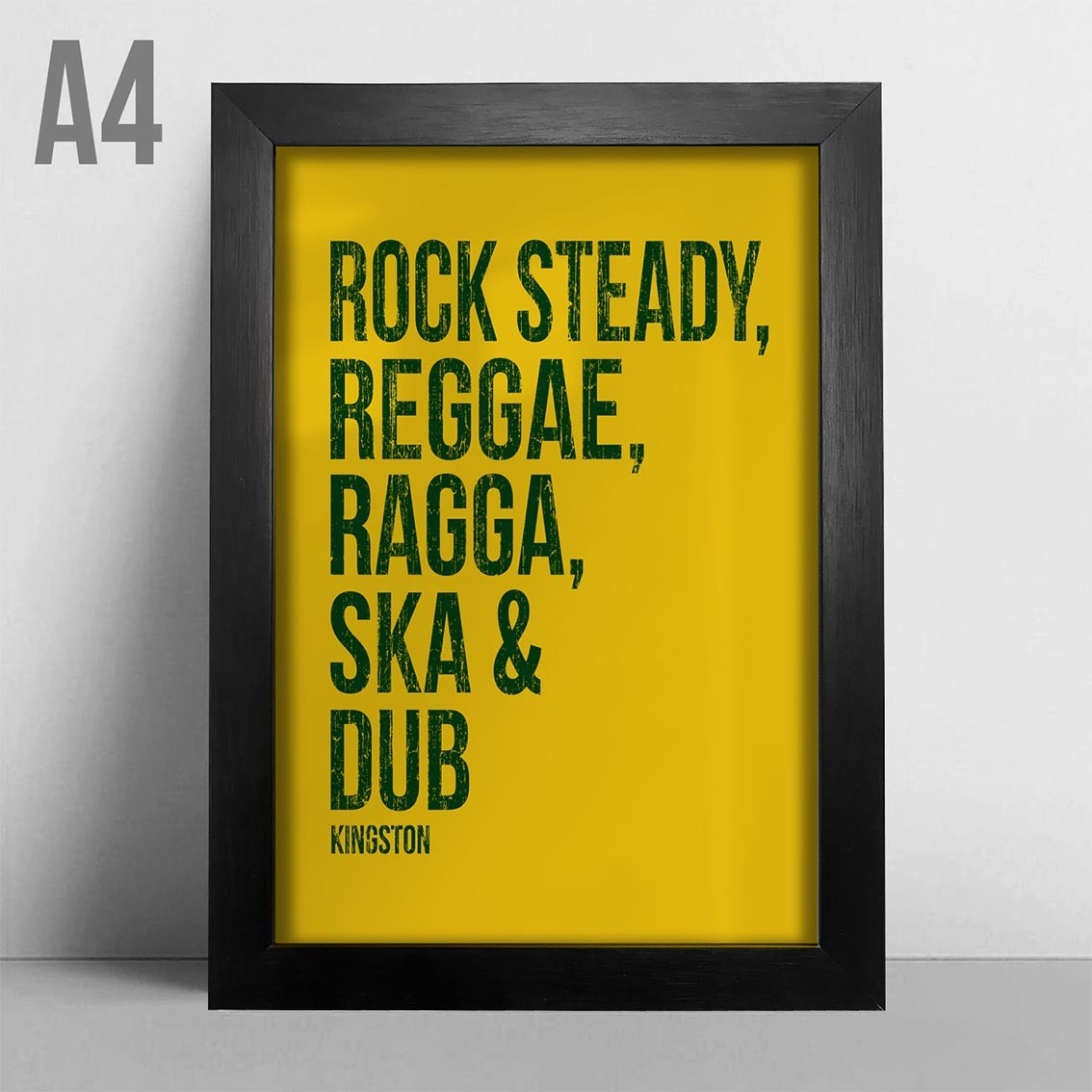 Quadro A4 - Sounds Of Kingston