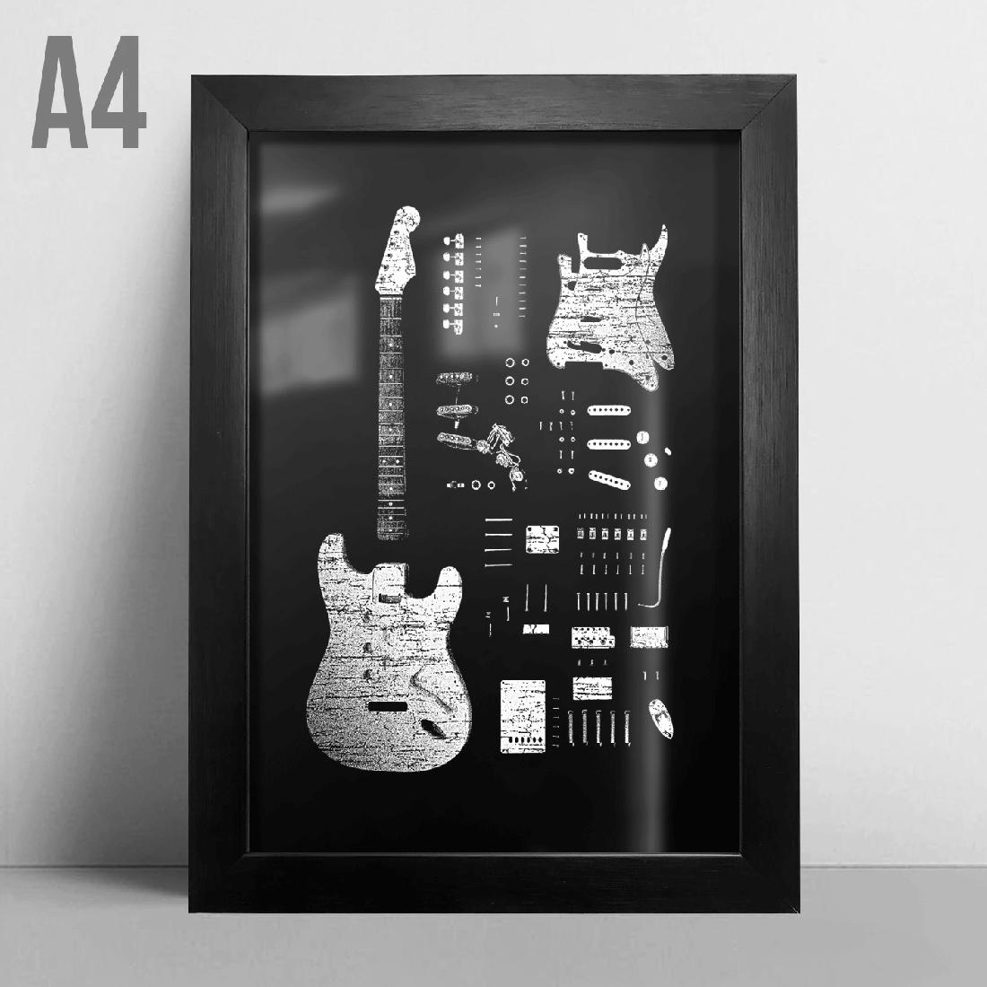 Quadro A4 - Stratocaster