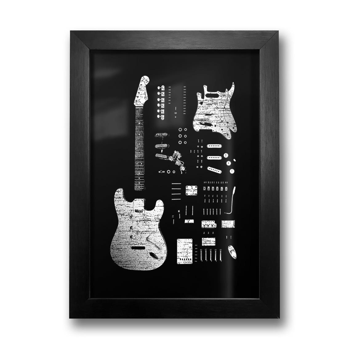 Quadro Stratocaster