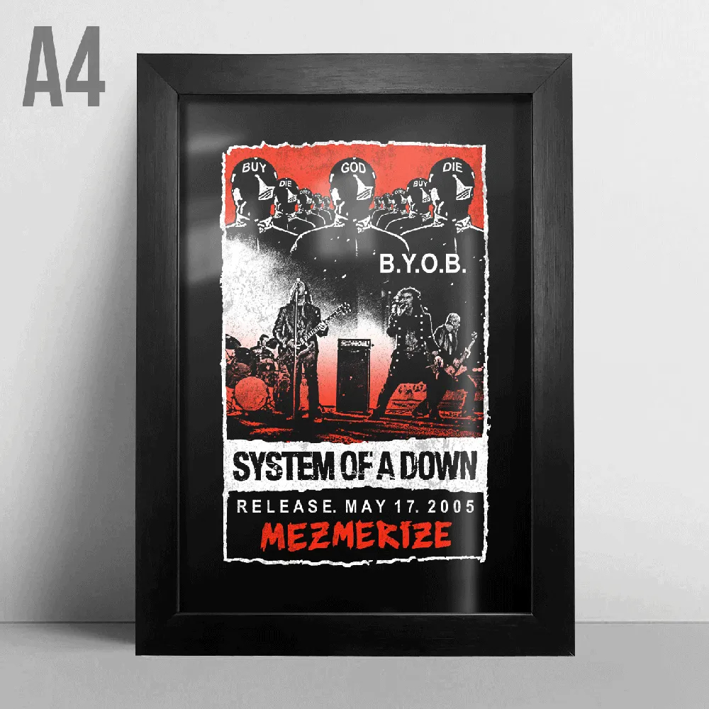Quadro A4 - System Of A Down