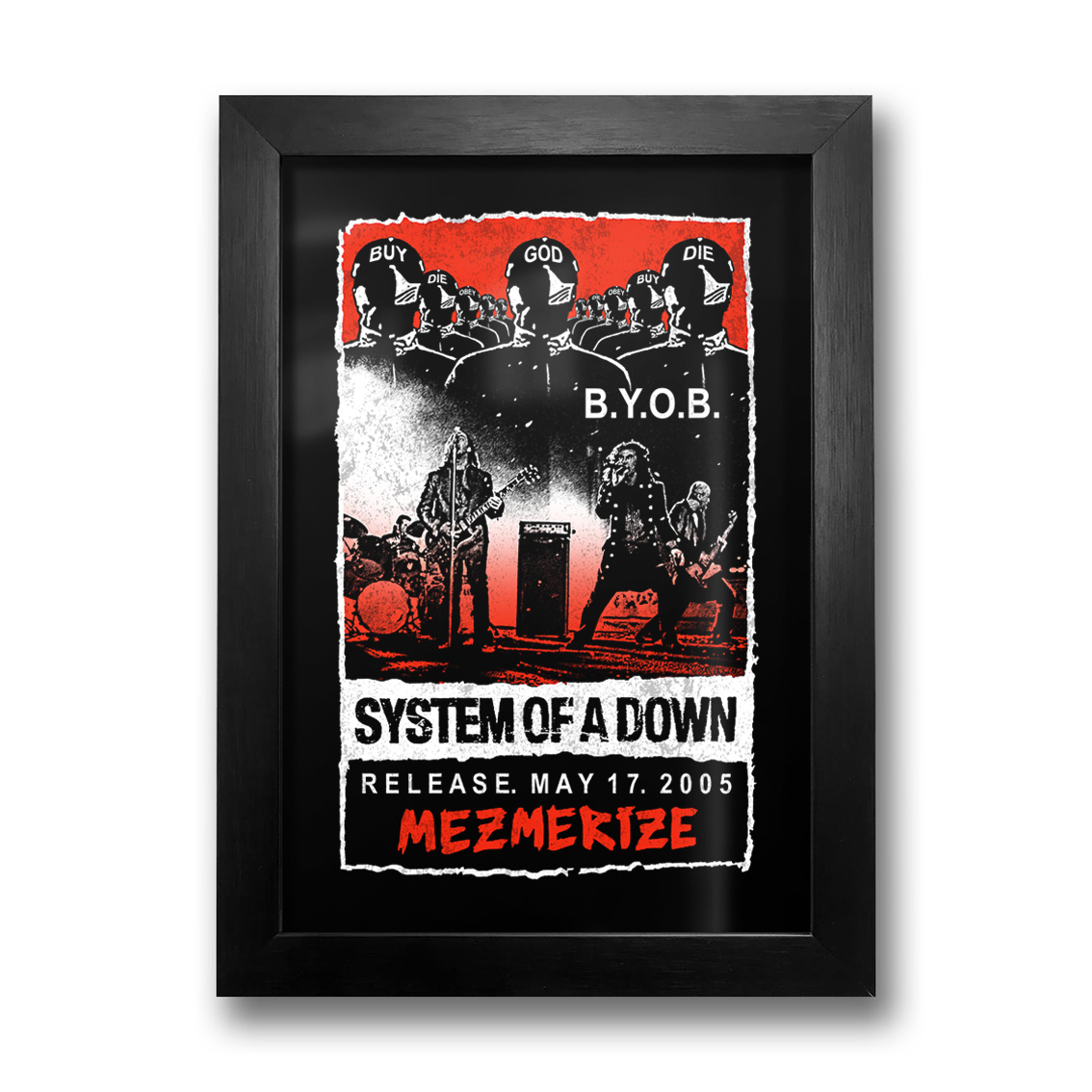 Quadro System Of A Down
