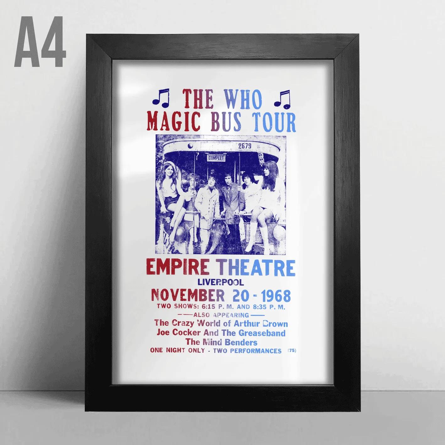 Quadro A4 - The Who