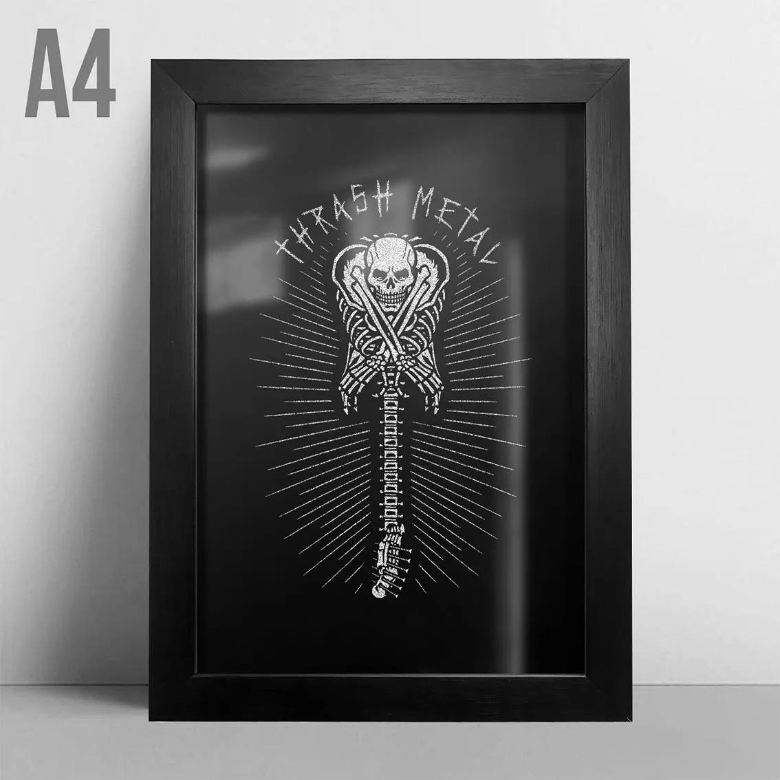 Quadro A4 - Thrash Metal