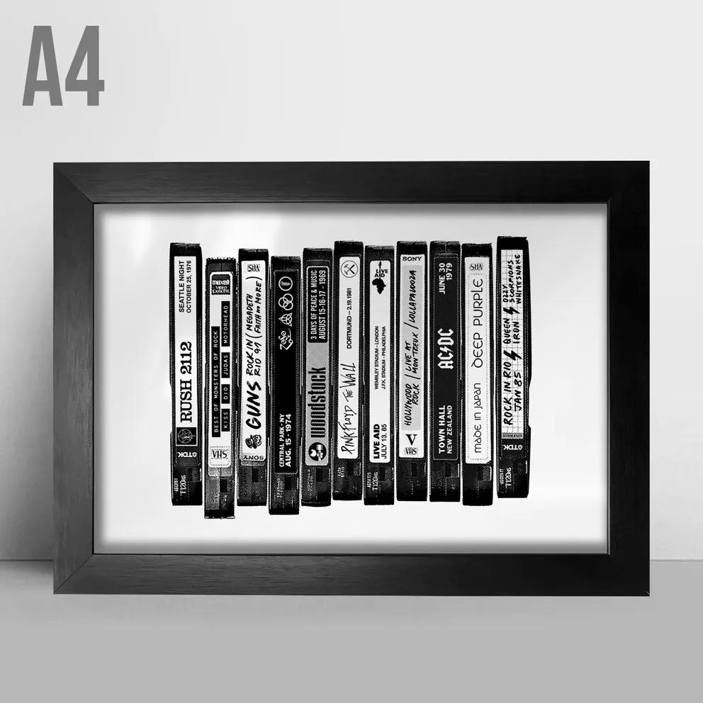Quadro A4 - VHS BR