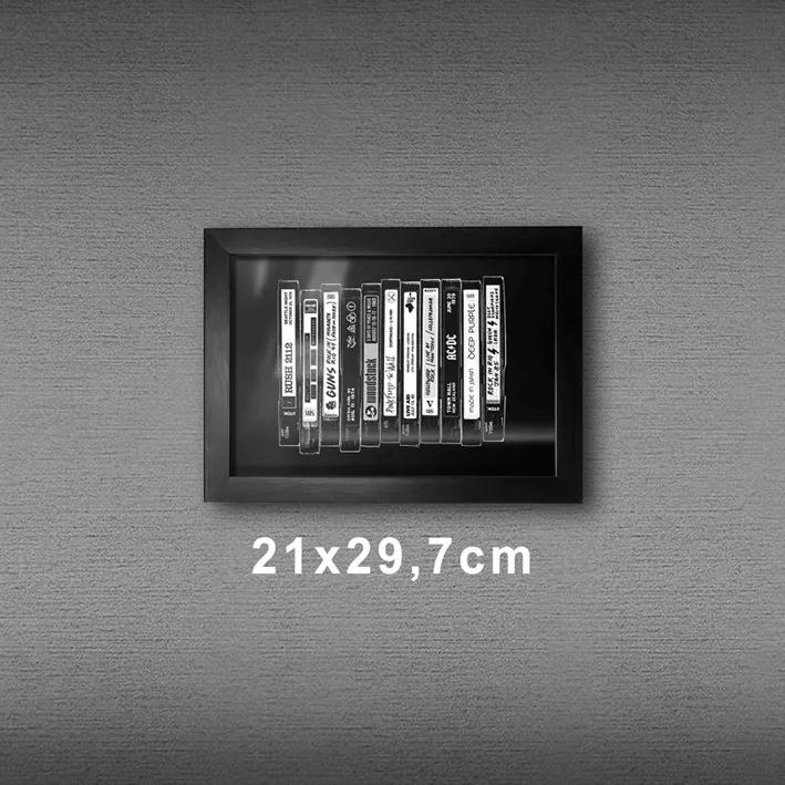 Quadro A4 - VHS PT