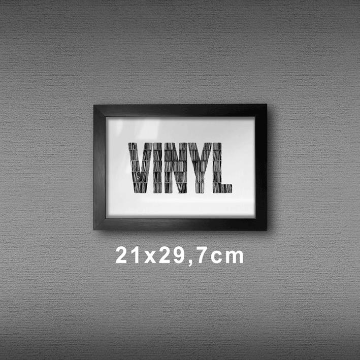 Quadro A4 - Vinyl