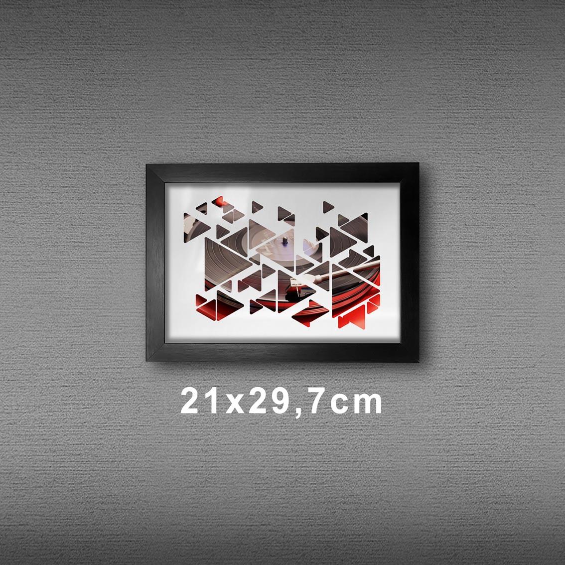 Quadro A4 - Vinyl Play