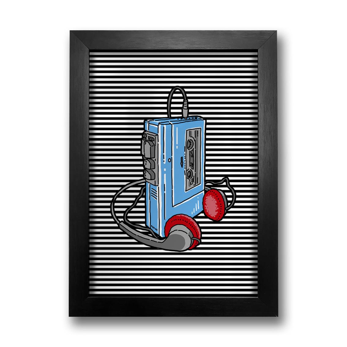 Quadro Walkman
