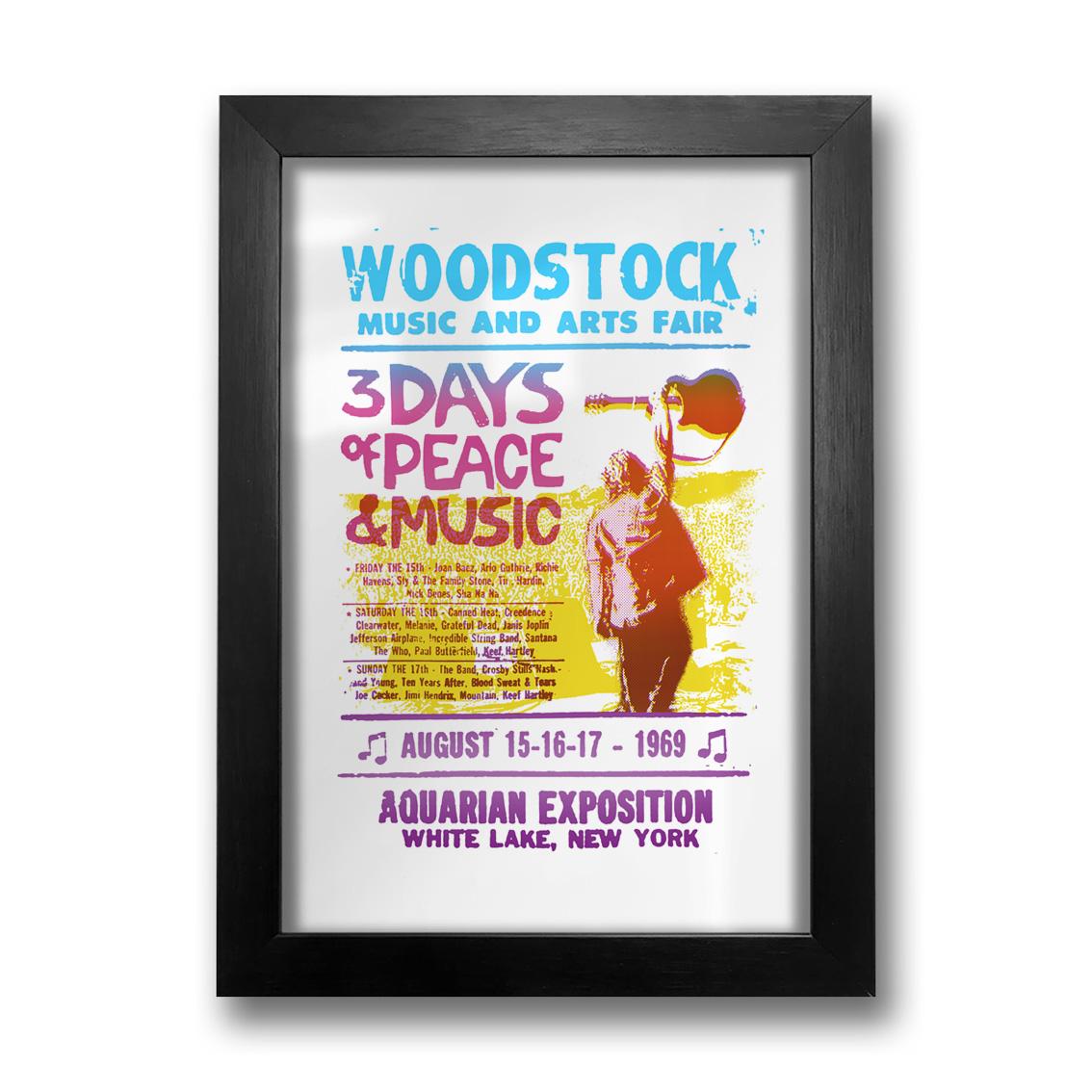 Quadro Woodstock