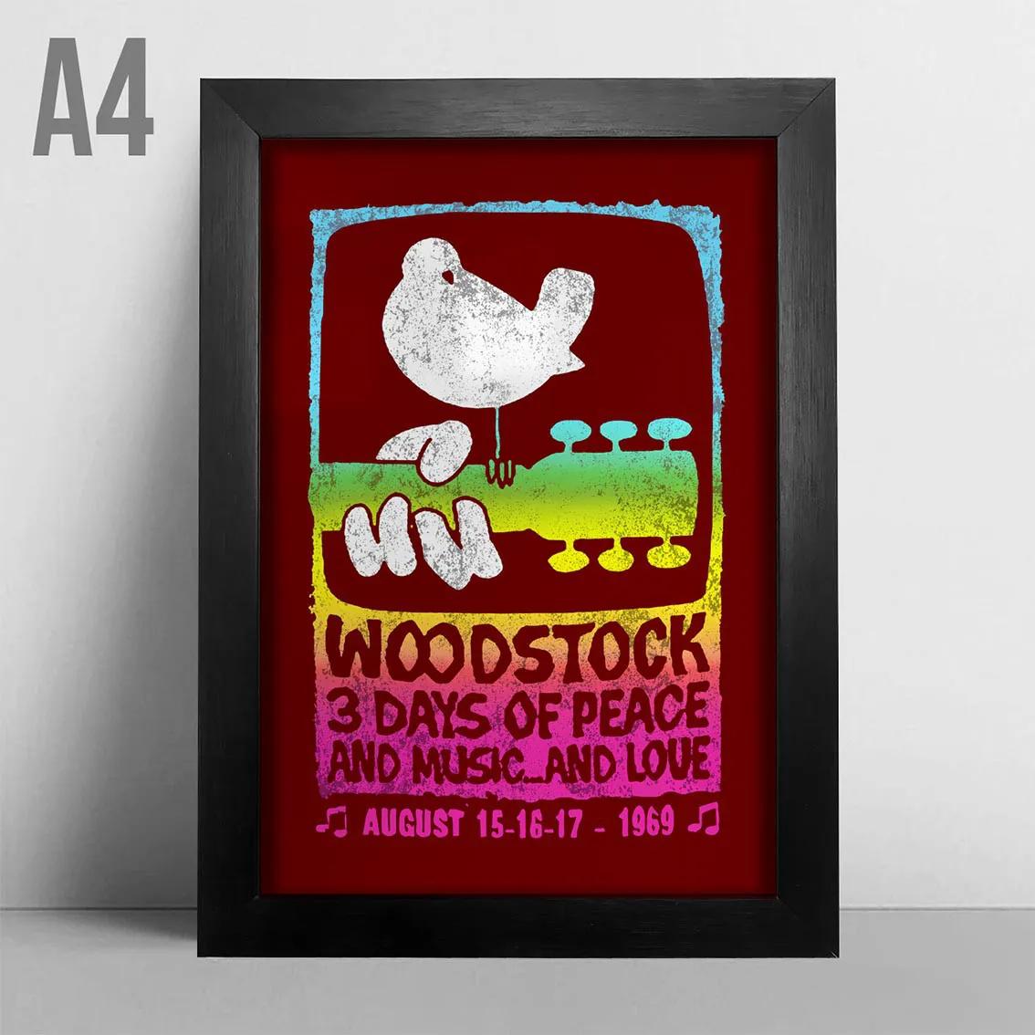 Quadro A4 - Woodstock Original