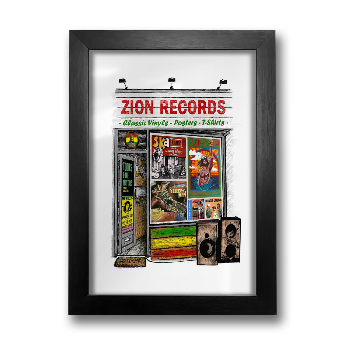 Quadro Zion Records