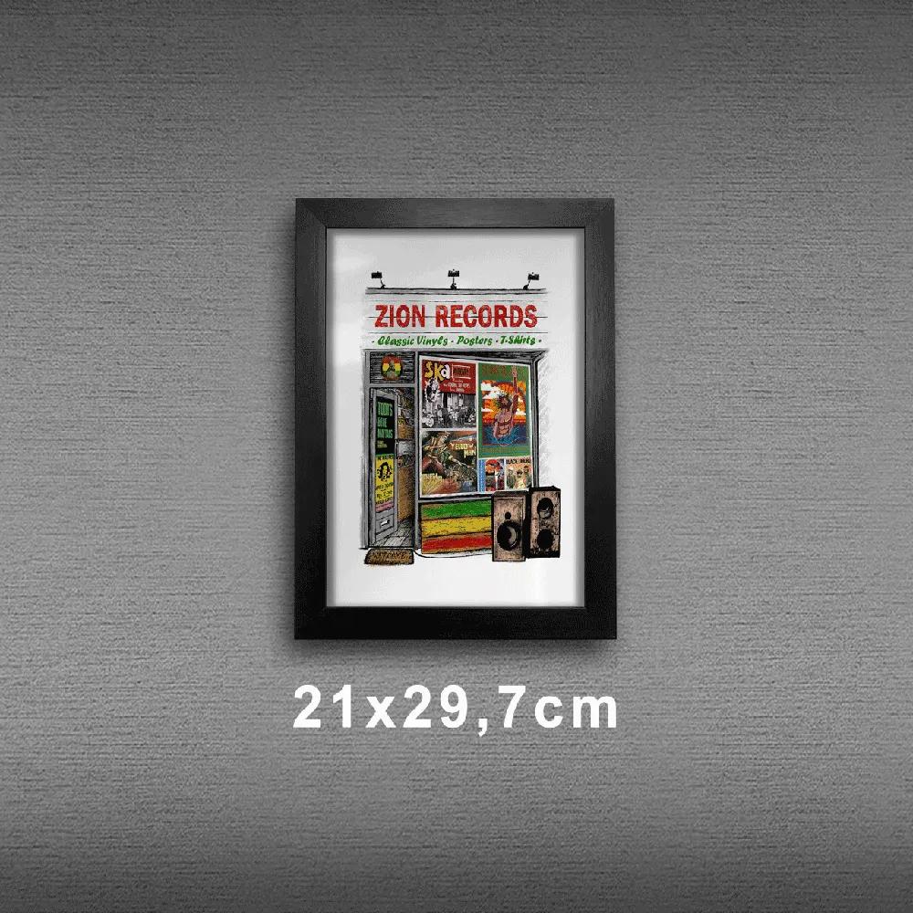 Quadro A4 - Zion Records