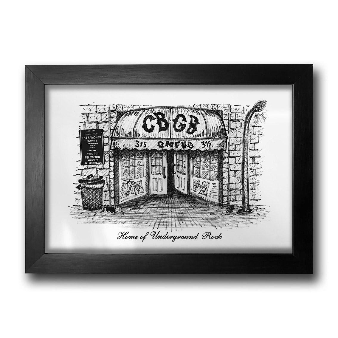 Quadro Home CBGB