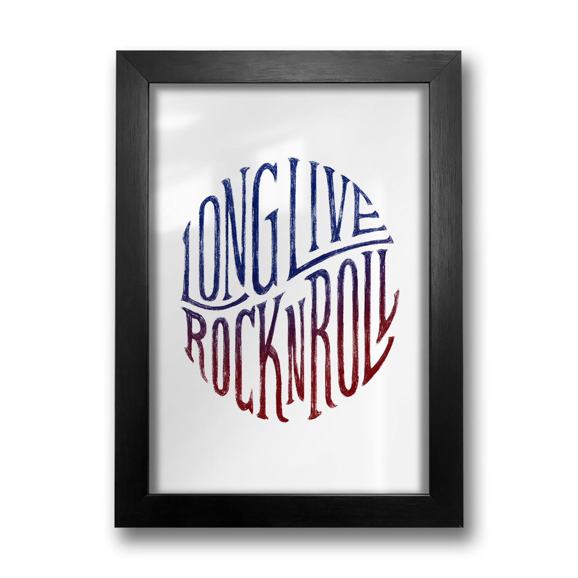 Quadro Long Live Rock N Roll