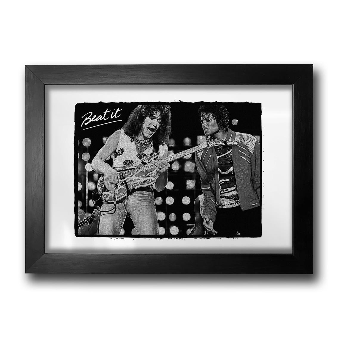 Quadro Van Halen & Michael