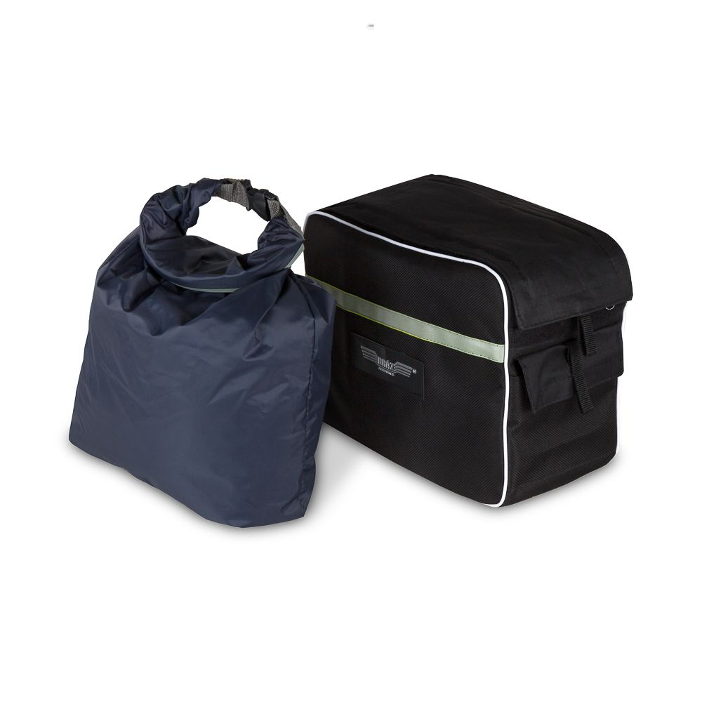 Alforge bolsa mala lateral de Nylon Bráz Acessórios
