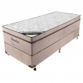 Cama Box Solteiro (Box + Colchão) Prorelax Mediterrâneo 88x188x32 Molas Ensacadas Euro Pillow Turn Free