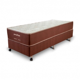 Cama Box Casal (Box + Colchão) Prorelax Solteiro Pro Quality 78x188 Pillow In Turn Free